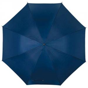 Einfarbiger Regenschirm mit Automatik