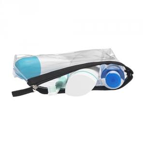 Transparente Kulturtasche AEROPLANE - geeignet für Handgepäck