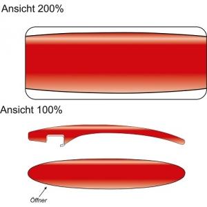 Design-Flaschenöffner inkl. Druck