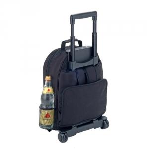 Trolley oder Rucksack