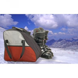 Moderne Skischuh-, Inliner- oder Schlittschuh-Tasche