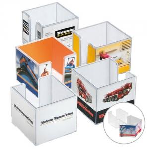 Doppelwandige Zettelbox