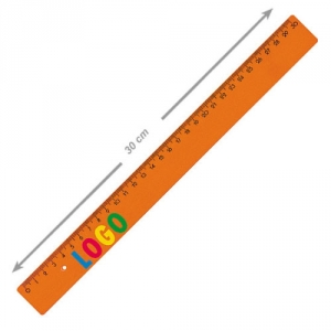 Lineal aus Kunststoff 30 cm