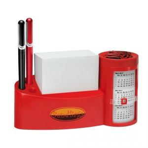 Zettelbox mit Drehkalender