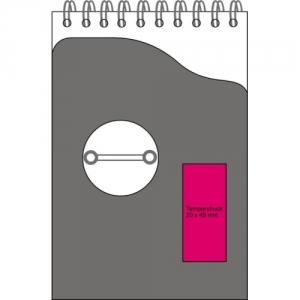 Notizblock für Auto und Büro