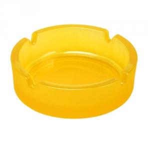 Glas-Aschenbecher rund