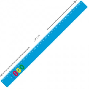 Lineal aus Kunststoff 50 cm