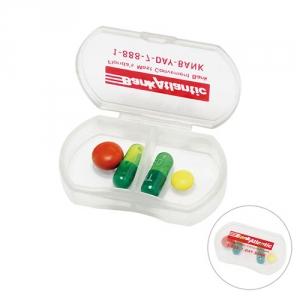 Tabletten-Dose mit 2 Fächern