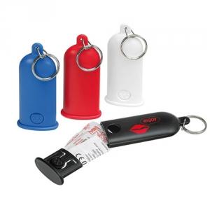 Kondombox als Schlüsselanhänger