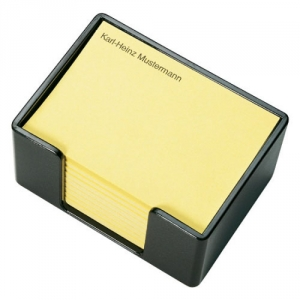 Dickwandige Zettelbox mit 3M Haftpapier