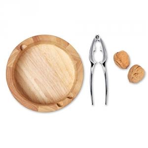 Nussknacker mit Holzschüssel