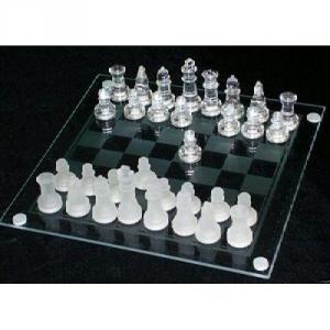 Glasspiele Schach