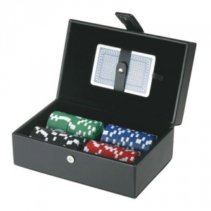 Poker-Set im Koffer