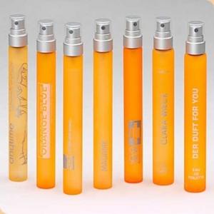Parfum-Flasche 10 ml zum Nachfüllen handlich incl. 1-farbigen Dr