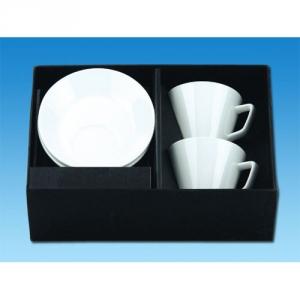 Kaffeetasse mit Platz für Kekse