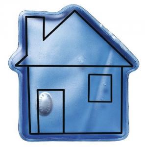Gel Wärmekissen in Hausform