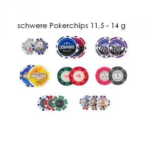 Pokerchips inklusive Heißprägung mit Ihrem Logo