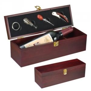 Edle Weinbox mit edlem Zubehoer