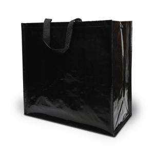 Einkaufstasche glänzend Woven