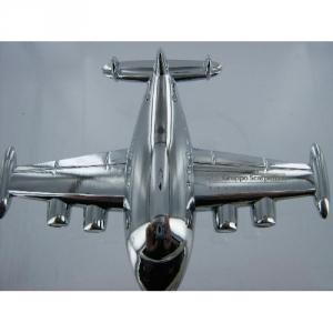 Briefbeschwerer Doppelpropeller Flugzeug