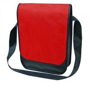 Vliestasche zum Umhängen hochkant