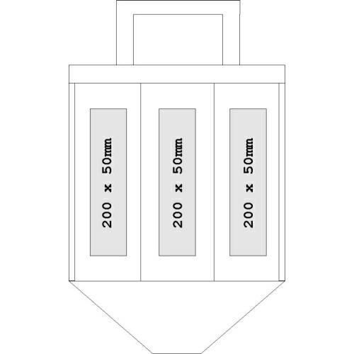 flaschentasche vlies 6 flaschen. Black Bedroom Furniture Sets. Home Design Ideas