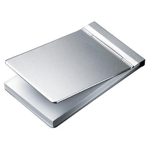 Visitenkartenetui Metall Mit Klickverschluss
