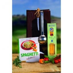 Geschenkset Spaghetti mit Heber und Kochbuch