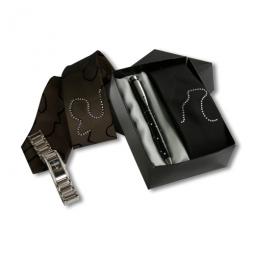 Krawattenset mit Swarovski-Kristallen