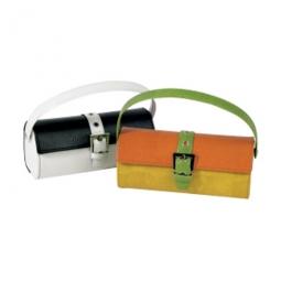Sonnenbrillenetui in Handtaschenform