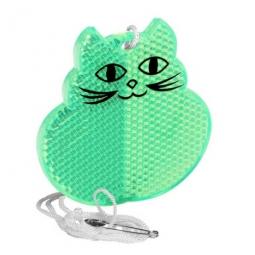Sicherheitsreflektor in Katzenform Made in Europa