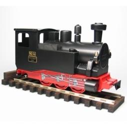 Räucherdampf Lokomotive