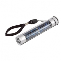 Solar-Taschenlampe mit Kompass