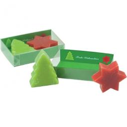 Weihnachtliche Seife