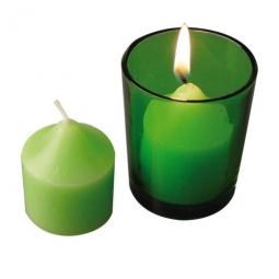 Windlicht grün oder orange