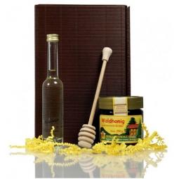 Präsentset SÜSSER ALKOHOL mit Honig