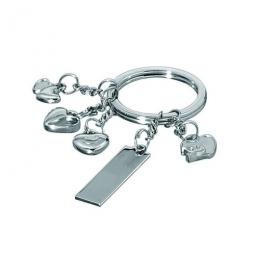 Schlüsselanhänger mit Herzchen