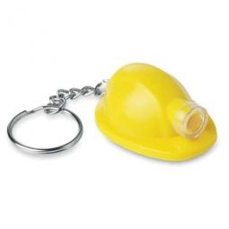 Bauarbeiterhelm als Schlüsselanhänger