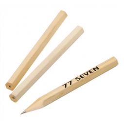 Bleistift kurz - ungespitzt - Härtegrad HB