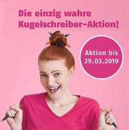 Aktions-Kugelschreiber - gütlig bis 29.03.19