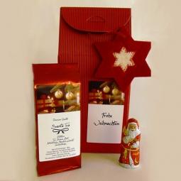 Teetüte mit Weihnachtsmann