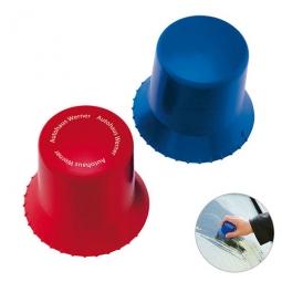 Designer-Eiskratzer rund