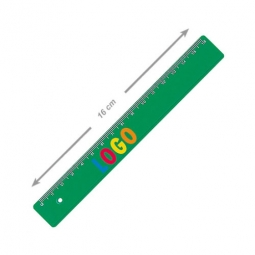 Lineal aus Kunststoff 16 cm