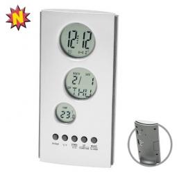 Tischuhr mit Thermometer