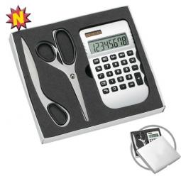 Taschenrechner-Büro-Set