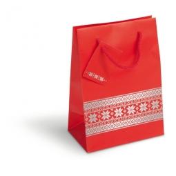 Weihnachtsgeschenkbeutel in drei verschiedenen Größen