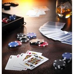 Poker im edlen Nappaleder