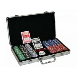 Poker-Set mit Ihren Chips 300