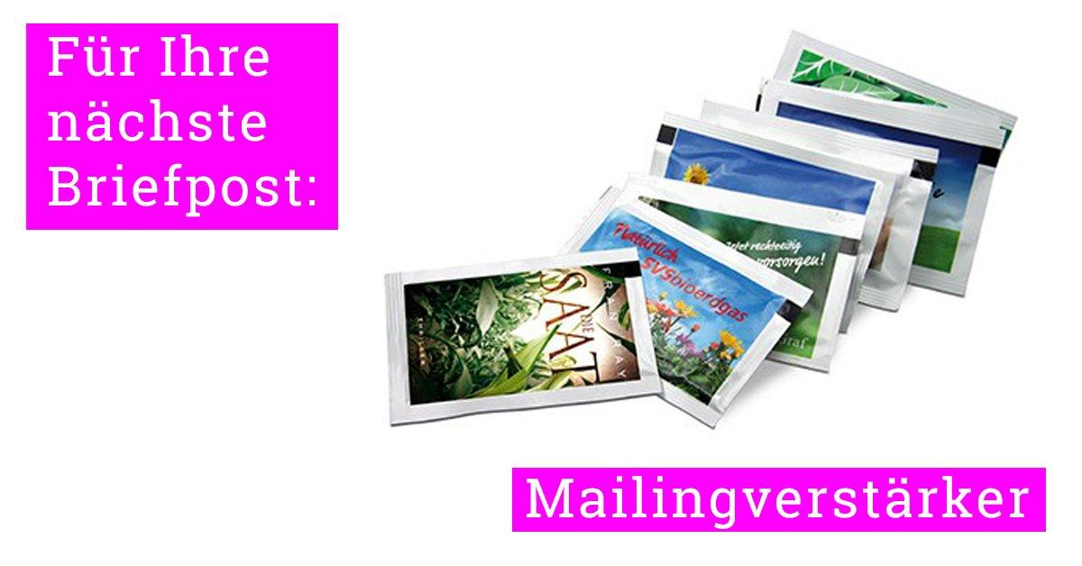 Mailingverstärker - Werbemittel für Briefwerbung